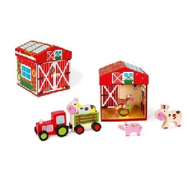 Play box farm 2 in 1