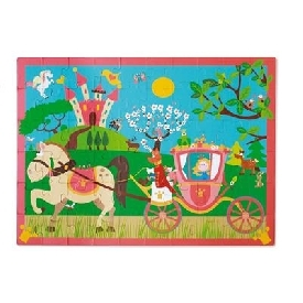 PUZZLE PRINCESS'S CARRIAGE 60pcs