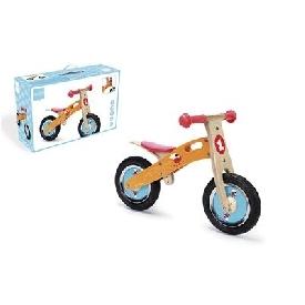 จักรยานขาไถขนาดเล็ก - สีเหลือง ลายนกสีแดง