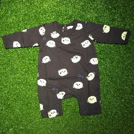 Baby onesie - glow in the dark puffer fish