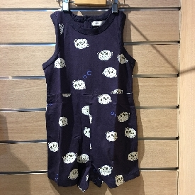 Girl jumpsuit - glow in the dark puffer fish
