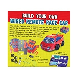 Klutz wired remote race car