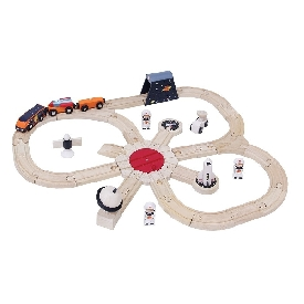 Cosmic rocket train set