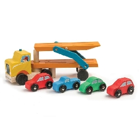 car transporter - tender leaf toys