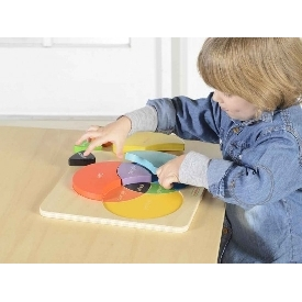 Color mixing learning board