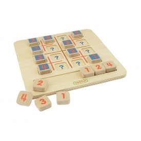 Mini sudoku game board