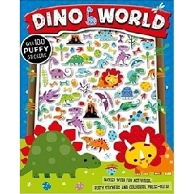 Dino World Puffy Sticker Activity Book