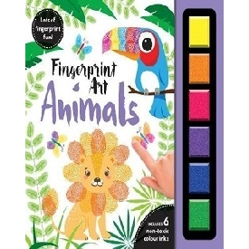 FINGER PRINT ART ANIMALS