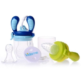 Food feeder starter pack - aquamarine/lime