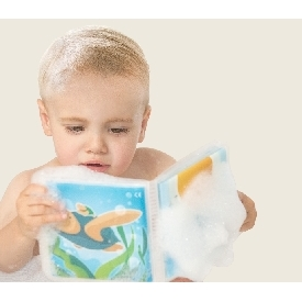 Squeak bath book - farm