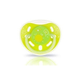 Glow-in-the-dark pacifier (s size nipple) lime