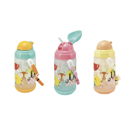 Kids water bottle one-touch-open 650 ml