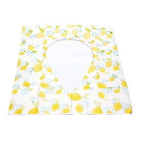 TOILET SEAT COVER (LEMON)