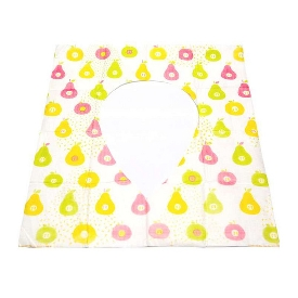 Toilet seat cover (pear)