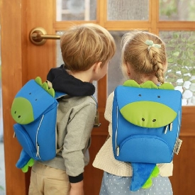 Dylan backpack with safety strap