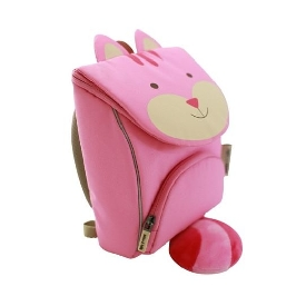 Lucy backpack with safety strap