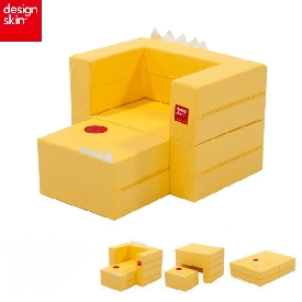 Designskin cake sofa - yellow