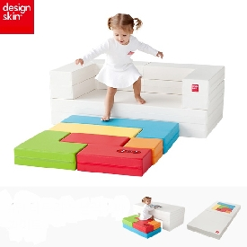 Designskin kids tetris sofa - multi colors