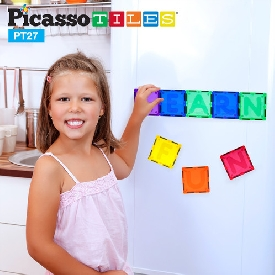 Picasso tiles - 27 piece alphabet set