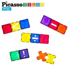 Picasso tiles - 22 piece numerical set