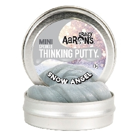 THINKING PUTTY: WINTER2018 - Snow Angel Holographic Glitter 2
