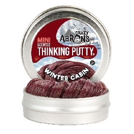 Thinking putty: winter2018 - winter cabin scented 2