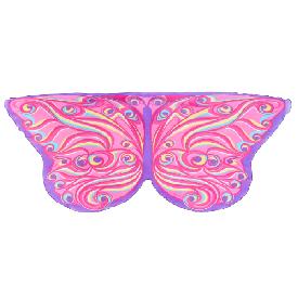 Dreamy dress-ups mask + wings, fantasy butterfly