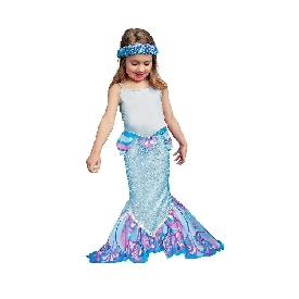 Dreamy fins mermaid tail- aqua blue