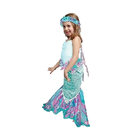 Dreamy fins  mermaid tail -ocean green