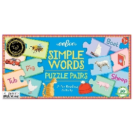 Simple Words Puzzle Pairs
