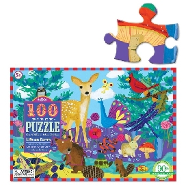 Life on earth 100 pc puzzle