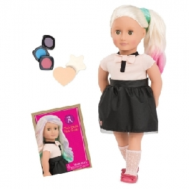 Chalk hair deco doll -amya