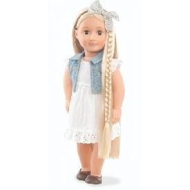Hair grow doll, blond - phoebe