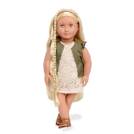 Hair Grow Doll, Blonde - Pia