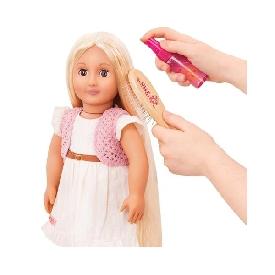 hair brush and spray bottle set