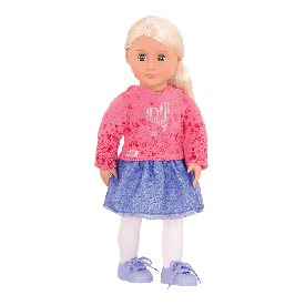 Doll with Skirt & Hoodie - Elizabeth Ann