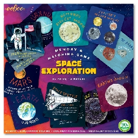 Space Exploration Memory Game
