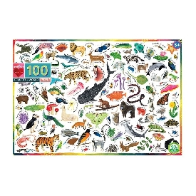 Beautiful World 100 pcs Puzzle