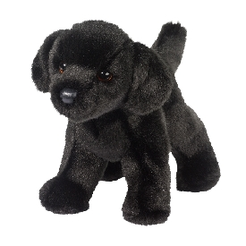 Bear black lab doll