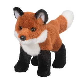 Bushy fox doll