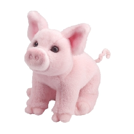 Betina pink pig doll