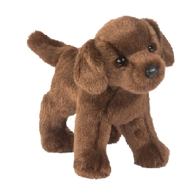 Tucker chocolate lab doll