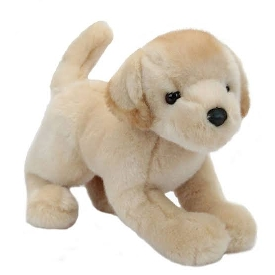 Spankie yellow lab doll
