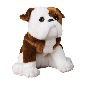 Hardy bulldog doll