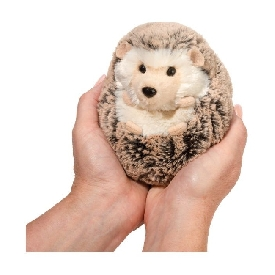 Spunky hedgehog doll