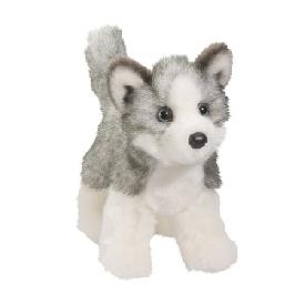 ตุ๊กตานุ่มนิ่ม หมาน้อย husky