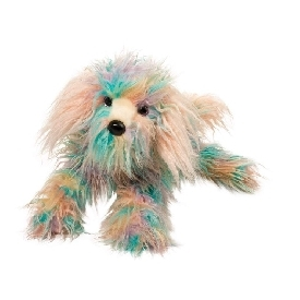 Jaxton rainbow sheepdog doll