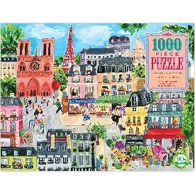 Paris in a day 1000 pc puzzle
