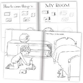 Eeboo - หนังสือสอนวาดภาพขั้นพื้นฐาน