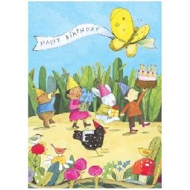 Eeboo birthday cards - birthday parade